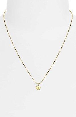 Alex Woo 'Mini Addition Signs' Zodiac Pendant Necklace