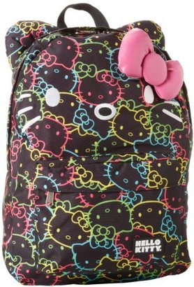 Hello Kitty Neon All Over Print SANBK0102 Backpack