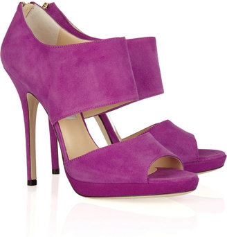 Jimmy Choo Private suede sandals