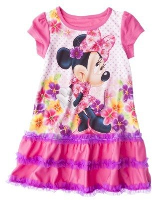 Disney Minnie Mouse Toddler Girls' Nightgown