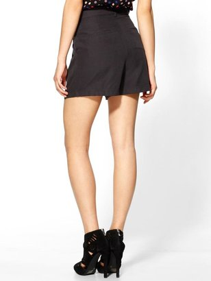 Juicy Couture Tinley Road Washed Black Shorts
