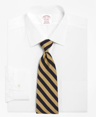 Brooks Brothers Madison Classic-Fit Dress Shirt, Spread Collar
