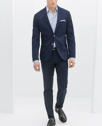 Zara Blue Suit