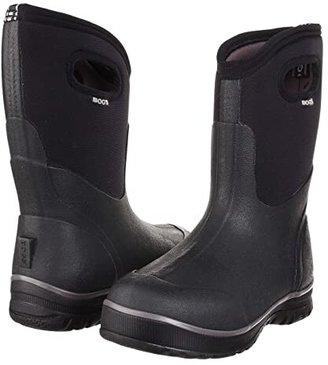 Bogs Classic Ultra Mid (Black) Men's Waterproof Boots