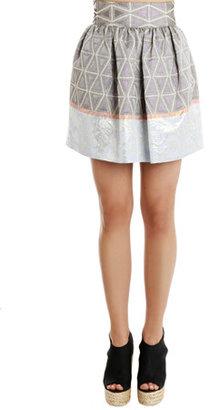 Suno Cinched Mini Skirt