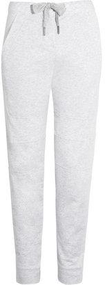 adidas by Stella McCartney Cotton-blend jersey yoga pants