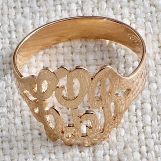 Pottery Barn Teen Monogram Ring