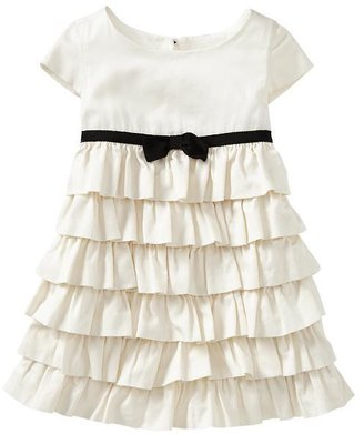 Gap Tiered ruffle dress
