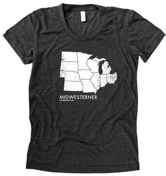 D.E.P.T The Social Midwesterner Tee Women's