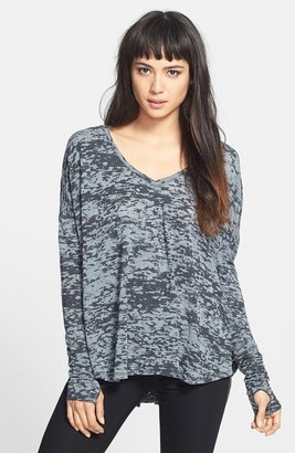 Feel The Piece 'Robin' Burnout Jersey Pullover