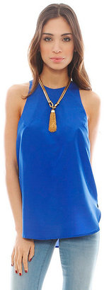 Finders Keepers Life Fire Top in Cobalt