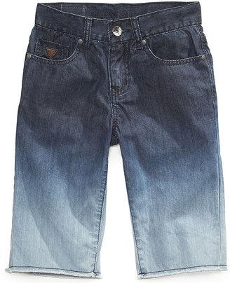 GUESS Boys' Slim-Fit Dip-Dyed Shorts