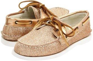 Sperry Kids - A/O Glitter (Youth) (Champagne Glitter) - Footwear