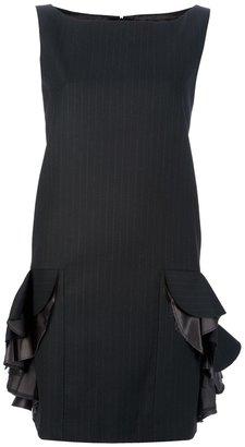 Sacai pinstripe sleeveless dress