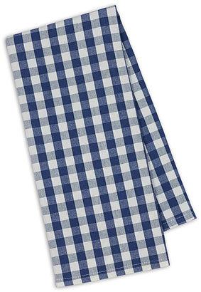 Blue Farm Check Dish Towel - Set of Four