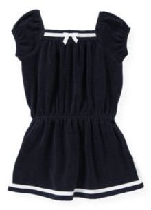 Janie and Jack Sailor Terry Swim Cover-Up