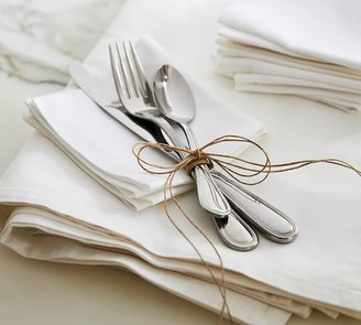 Pottery Barn Caterer's Box Stainless Steel Flatware - Set of 36