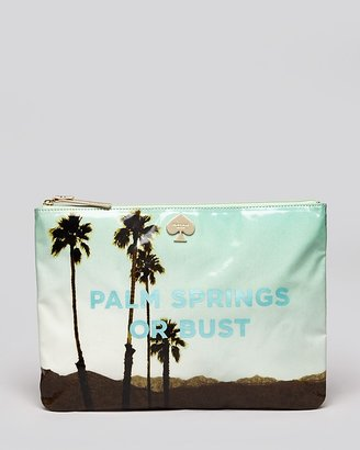 Kate Spade Pouch - Palm Springs Or Bust Gia