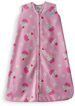 Halo SleepSack™ Wearable Blanket Micro-fleece - Pink Cupcakes