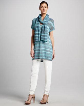 Magaschoni Skinny Silk Pants