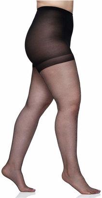 Berkshire Women Queen Plus Size Shimmers Ultra Sheer Control Top Pantyhose 4412