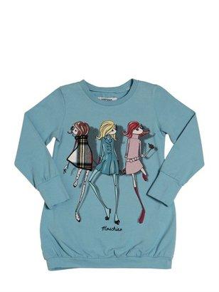 Cotton Jersey Maxi T-Shirt