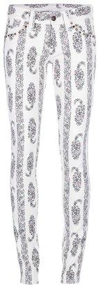 Isabel Marant 'Bario' printed skinny jean
