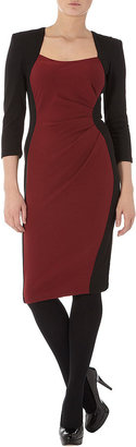 Dorothy Perkins Black and port dress