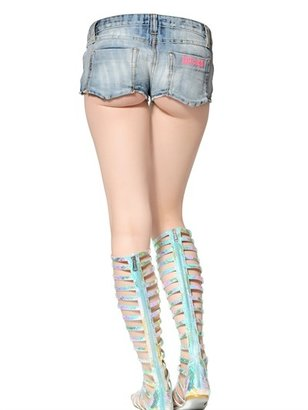 Just Cavalli 5 Pocket Super Stretch Denim Shorts