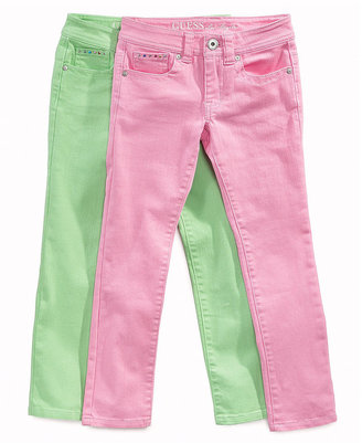 GUESS Kids Jeans, Girls Overdyed Denim Jeans