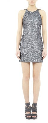 Nicole Miller Swirly Sequins Dress