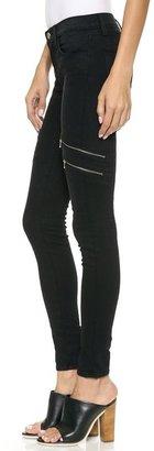 J Brand 8870 Dee Zip Photo Ready Skinny Jeans
