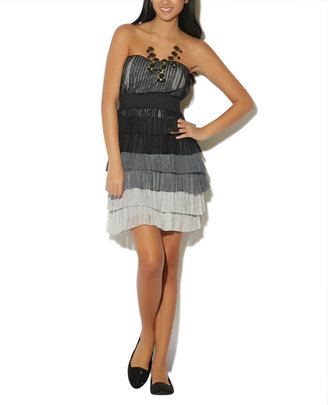 Wet Seal Tiered Tulle Party Dress
