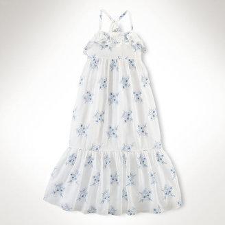 Ralph Lauren Floral Gauze Dress