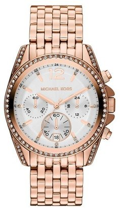 MICHAEL Michael Kors Michael Kors 'Pressley' Chronograph Bracelet Watch, 39mm