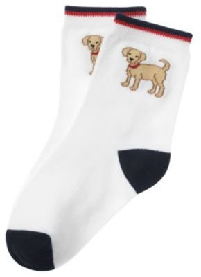 Janie and Jack Dog Sock