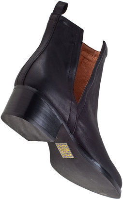 Jeffrey Campbell Oriley Ankle Boot Black Leather