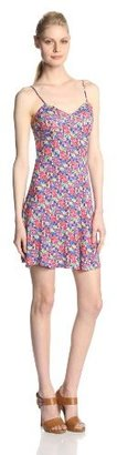Jessica Simpson Women's Raven Tank Dress In Hibiscus Floral