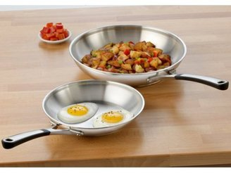 Calphalon 2-pc. Stainless Steel Simply Stainless Omelette Pan Set
