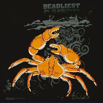 Deadliest Catch Glow in the Dark Crab Kid's T-Shirt