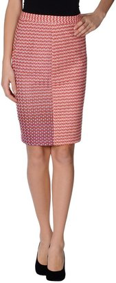 Missoni Knee length skirts