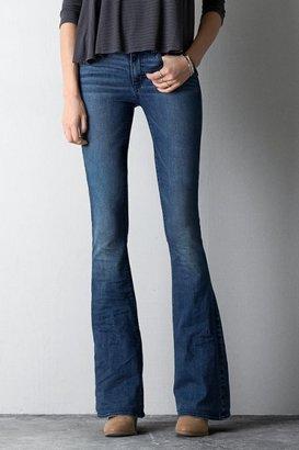 American Eagle Outfitters Dark Indigo Hi-Rise Artist Pants SlacksJeans