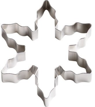Crate & Barrel Snowflake Cookie Cutter