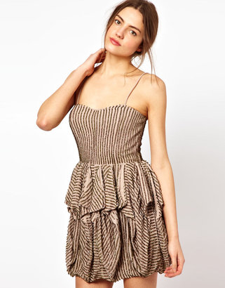 French Connection Samara Sequins Dress