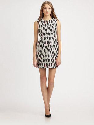 Diane von Furstenberg New Summer Mini Dots Dress