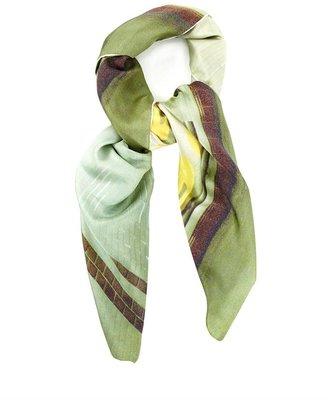 Temps Des Rêves Metro champs print scarf