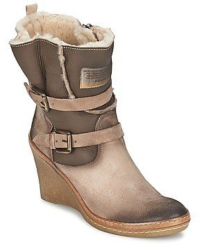 Manas Design CHUMA women's Low Ankle Boots in Beige