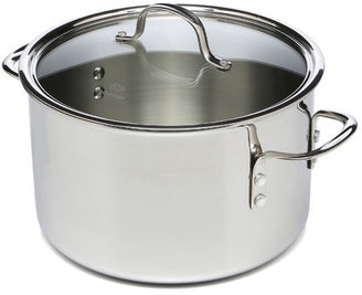 Calphalon Tri-Ply Stainless Steel 8 Qt Stock Pot with Lid