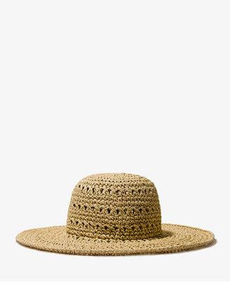 Forever 21 Open Weave Floppy Hat