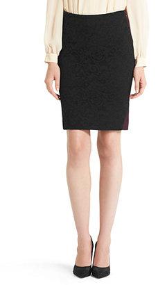 Diane von Furstenberg Mae Stretch Lace Pencil Skirt